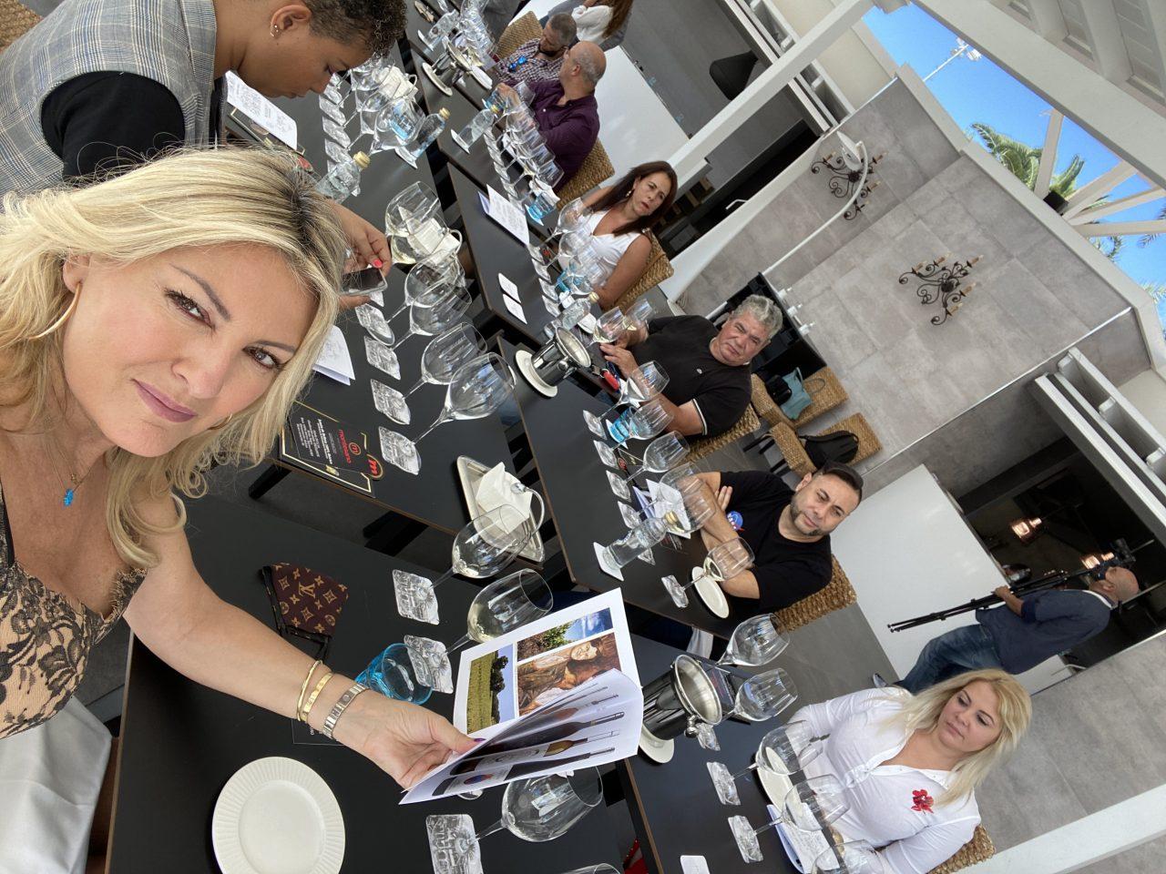 Estuvieron invitados varios propietarios y representantes de algunos de los mejores restaurantes de Gran Canaria.