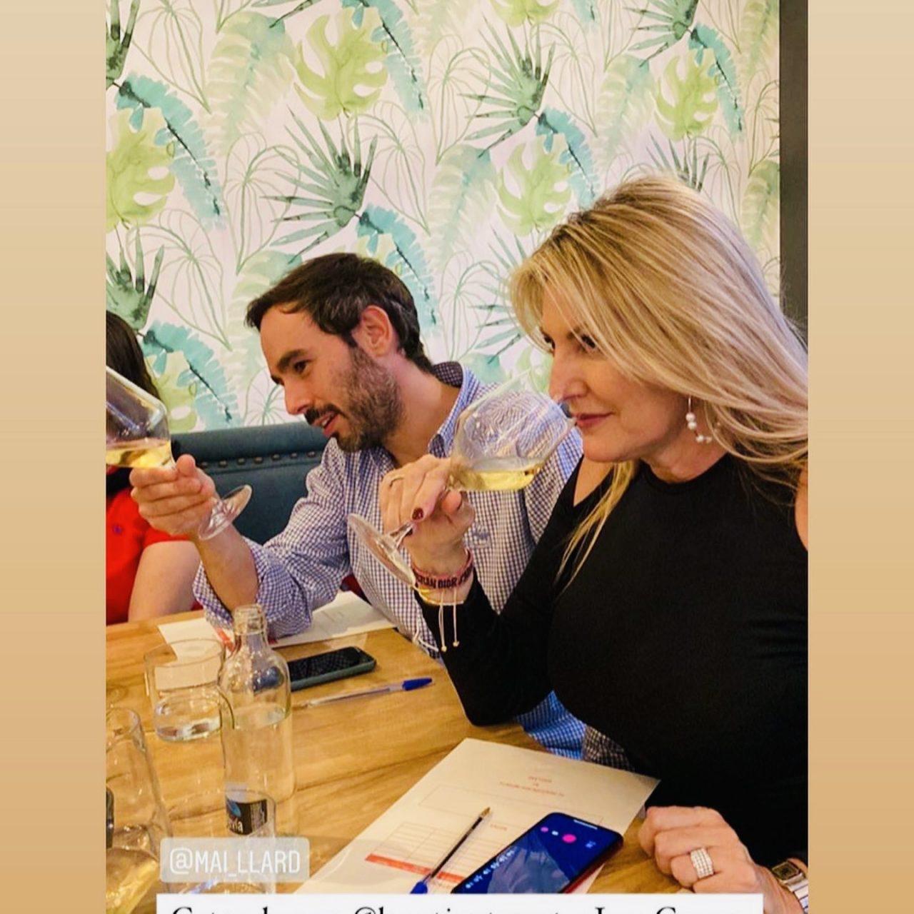 Vicente López, chef de La Patineta, ejerció como anfitrión y como invitado de esta cata excepcional ofrecida por la distribuidora de productos gourmet Maillard.