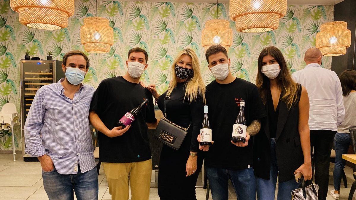 La flamante empresa distribuidora de vinos y productos gourmet MAILLARD organizó una cata de sus productos en La Patineta.