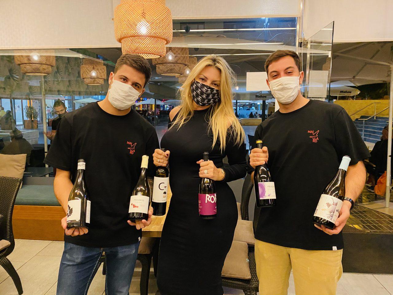 Samuel y Javier González, propietarios de Maillard, empresa distribuidora de vinos y productos gourmet.