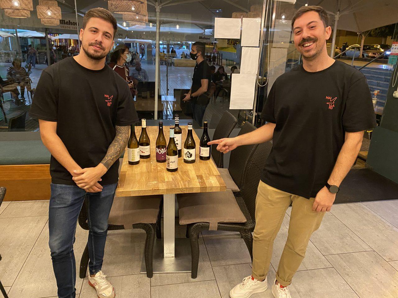 Javier y Samuel González, propietarios de Maillard.